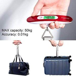 bilancia digitale portatile da viaggio pesa bagagli con funzione di tara 2 tuttogiappone