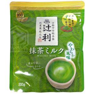 latte milk matcha tsujiri 200g tuttogiappone