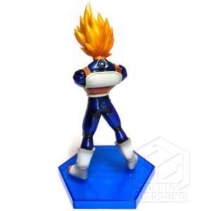 Dragon Ball Kai The Legend of Saiyan Vegeta SSJ DX Action Figure 2 tuttogiappone