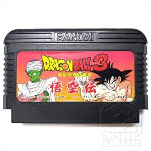 Dragon Ball 3 Gokuden Nintendo NES famicon 1989 1 tuttogiappone