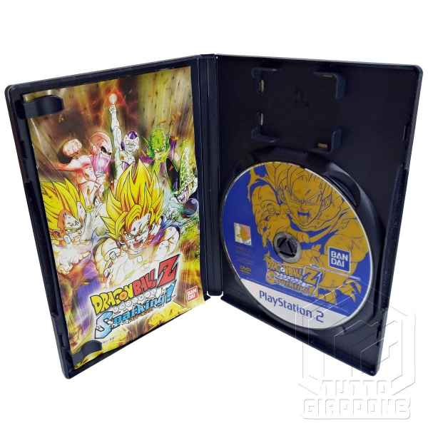 Dragon Ball Z Sparking PS2 aperto cd tuttogiappone