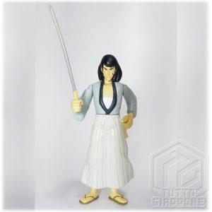 Goemon Ishikawa gashapon action figure 1996 Lupen TuttoGiappone fronte