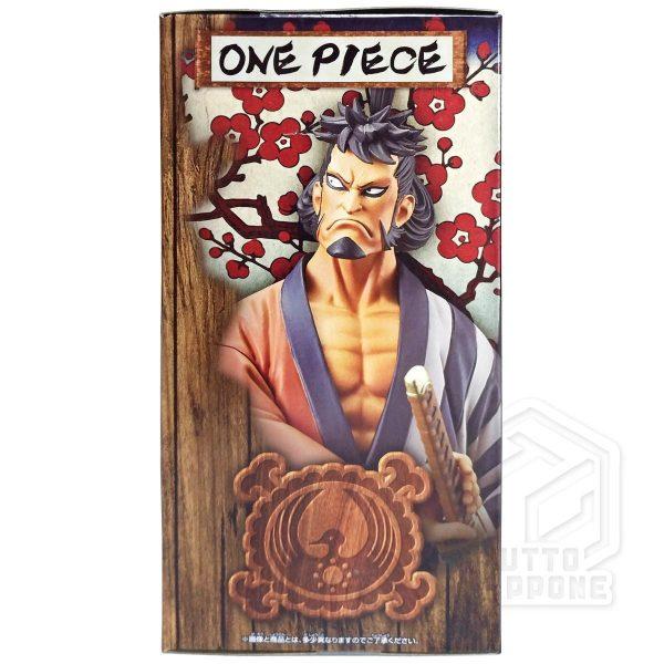 Kinemon One Piece wano DXF The GRANDLINE Men lato 1 tuttogiappone