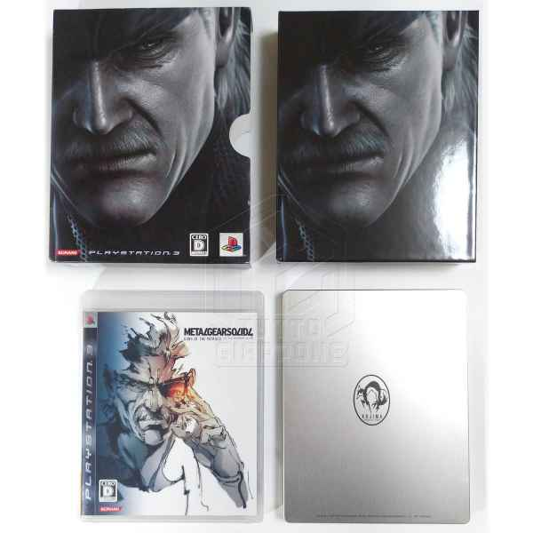 Metal Gear Solid 4 Guns of the Patriots Limited Edition PS3 tuttogiappone 03