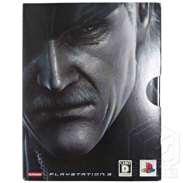 Metal Gear Solid 4 Guns of the Patriots Limited Edition PS3 tuttogiappone 16