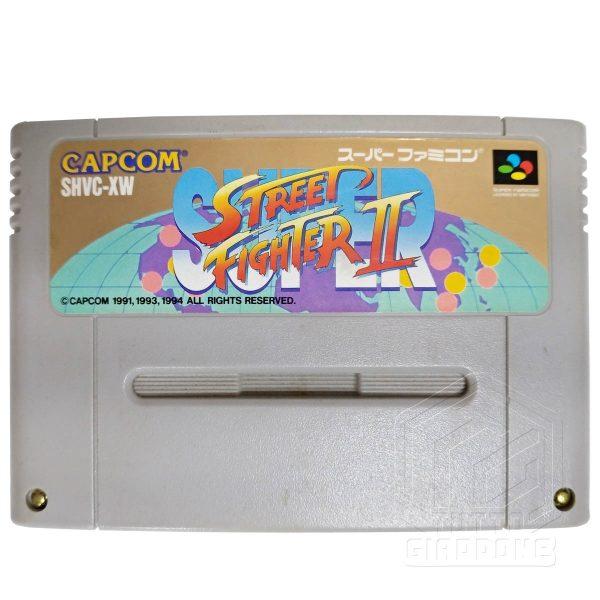 Street Fighter II Super cartuccia nes tuttogiappone