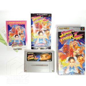 Street Fighter II Turbo set nes tuttogiappone